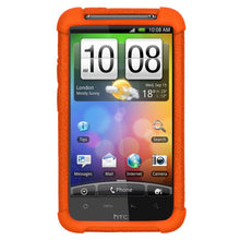 Load image into Gallery viewer, AMZER Silicone Skin Jelly Case for HTC Desire HD - Orange