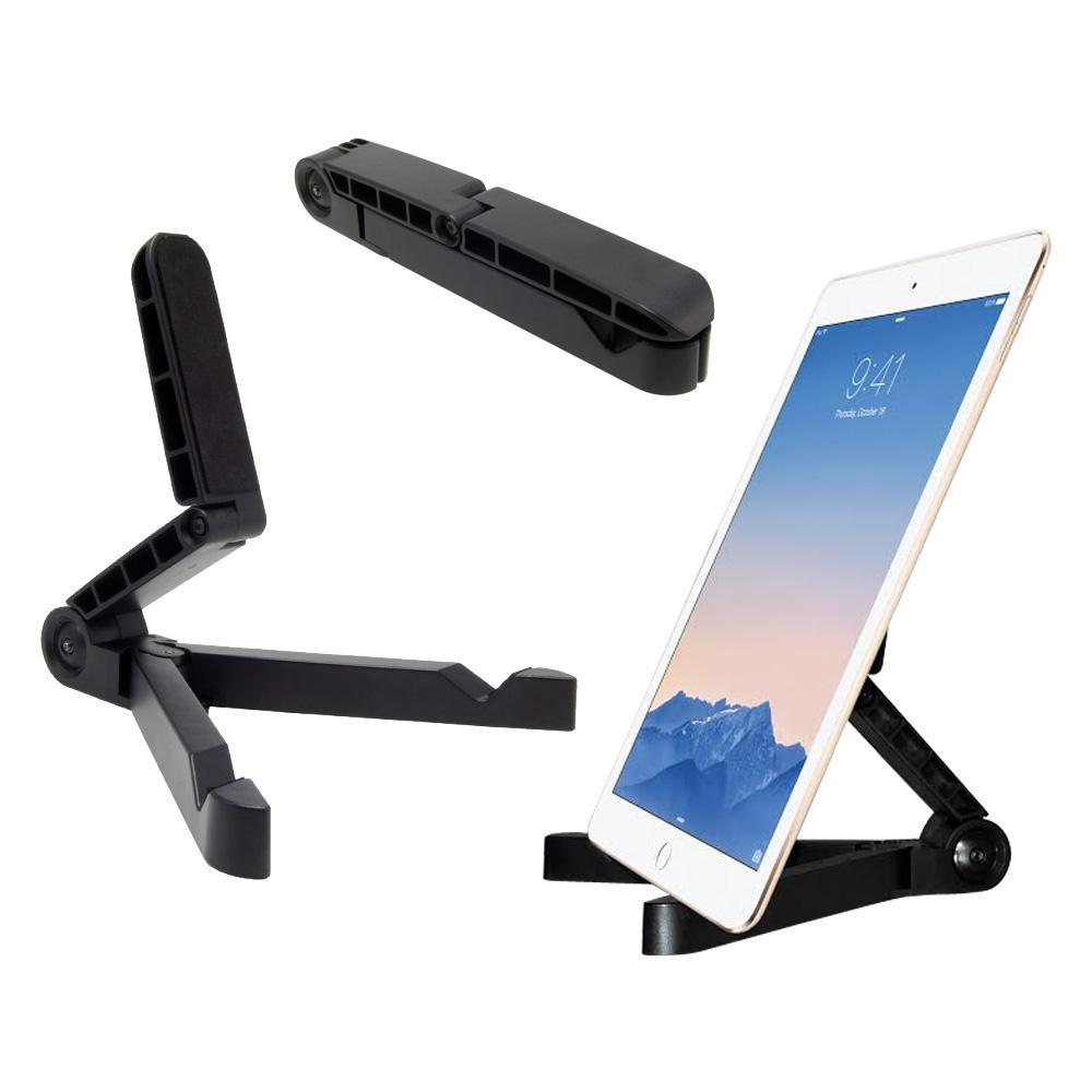 AMZER Universal Folding Desk Holder Tablet Stand Mount - Black