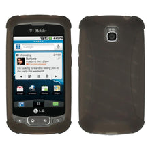 Load image into Gallery viewer, AMZER Silicone Skin Jelly Case for LG Optimus T - Grey