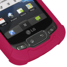 Load image into Gallery viewer, AMZER Silicone Skin Jelly Case for LG Optimus T - Hot Pink