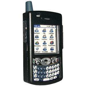 Amzer Aluminium Hard Metal Cases - Black for Treo 680, Treo 650, Treo 600