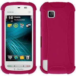 AMZER Shockproof Rugged Silicone Skin Jelly Case for Nokia Nuron 5230