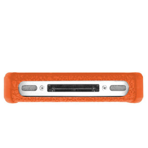 AMZER Shockproof Rugged Silicone Skin Jelly Case for iPhone 4 - Orange