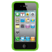 Load image into Gallery viewer, AMZER Shockproof Rugged Silicone Skin Jelly Case for iPhone 4 - Green