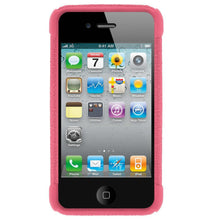 Load image into Gallery viewer, AMZER Shockproof Rugged Silicone Skin Jelly Case for iPhone 4 - Baby Pink
