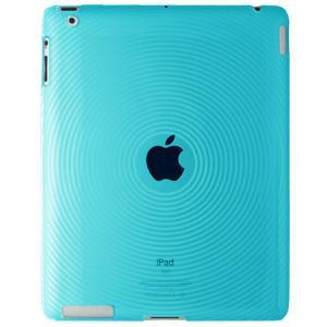 AMZER Circle TPU Case - Blue for iPad 2