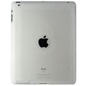 AMZER Circle TPU Case - Clear for iPad 2