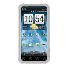 Load image into Gallery viewer, AMZER Silicone Skin Jelly Case for HTC EVO 3D - Transparent White