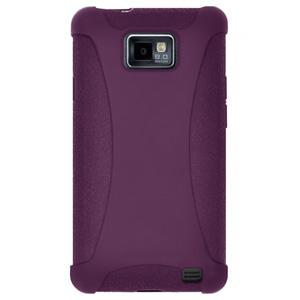 Amzer Silicone Skin Jelly Case - Purple for Samsung GALAXY S II GT-I9100