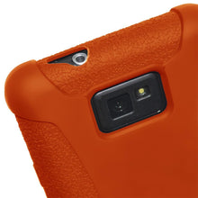 Load image into Gallery viewer, AMZER Silicone Skin Jelly Case for Samsung GALAXY S II GT-I9100 - Orange