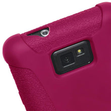 Load image into Gallery viewer, AMZER Silicone Skin Jelly Case for Samsung GALAXY S II GT-I9100 - Hot Pink