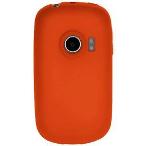 AMZER® Silicone Skin Jelly Case - Orange for Huawei M835