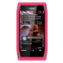 Load image into Gallery viewer, AMZER Silicone Skin Jelly Case for Nokia X7-00 - Baby Pink