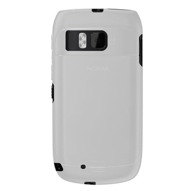 AMZER Soft Gel TPU Gloss Skin Case - Clear for Nokia E6-00