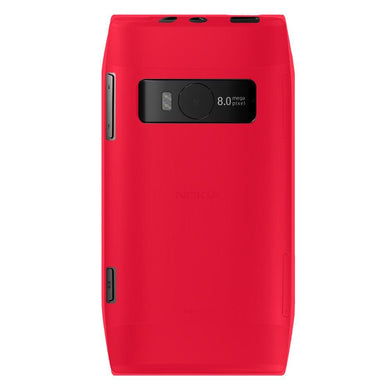 AMZER Soft Gel TPU Gloss Skin Case - Hot Pink for Nokia X7-00