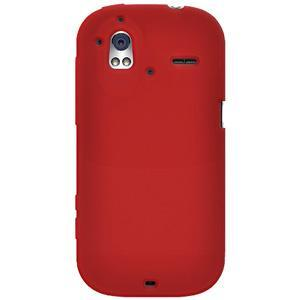 AMZER® Silicone Skin Jelly Case - Red for HTC Amaze 4G