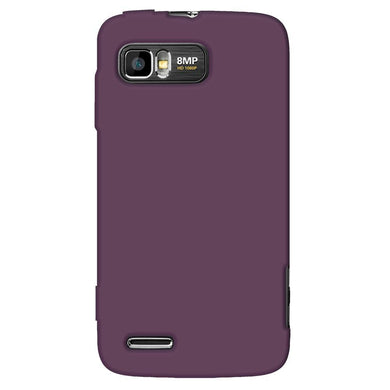 AMZER® Silicone Skin Jelly Case - Purple for Motorola ATRIX 2 MB865