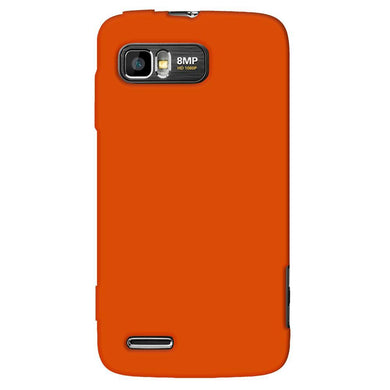 AMZER® Silicone Skin Jelly Case - Orange for Motorola ATRIX 2 MB865