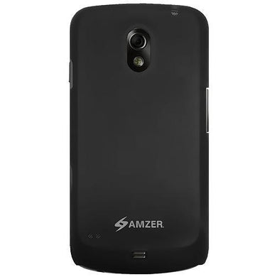 AMZER Simple Click On Case - Rubberized Black for Google GALAXY Nexus