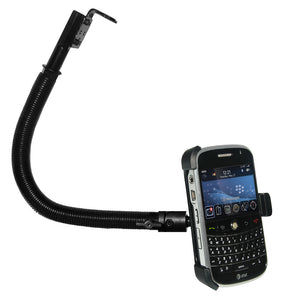 AMZER 18 Inch Aluminum Gooseneck Floor Mount for BlackBerry Bold
