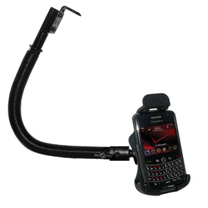 AMZER 18 Inch Aluminum Gooseneck Floor Mount for Blackberry Tour 9630