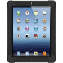 Load image into Gallery viewer, AMZER Shockproof Rugged Silicone Skin Jelly Case for iPad 3 - Black