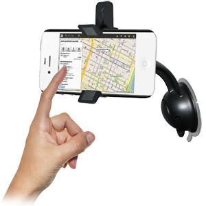 Amzer Car Mount & Case System for iPhone 4S, iPhone 4