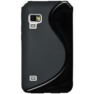 Amzer Soft Gel TPU Gloss Skin Case - Black for Samsung Galaxy Player 5.0