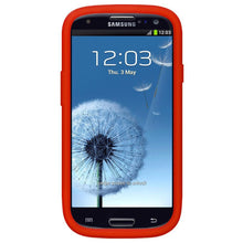 Load image into Gallery viewer, AMZER Silicone Skin Jelly Case for Samsung GALAXY S III GT-I9300 - Red