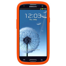 Load image into Gallery viewer, Amzer Silicone Skin Jelly Case - Orange for Samsung GALAXY S3 Neo GT-I9300I, Samsung GALAXY S III GT-I9300