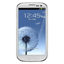 Load image into Gallery viewer, AMZER Snap On Case with kickstand - White for Samsung GALAXY S III GT-I9300