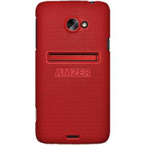 AMZER® Snap On Case - Dark Red for HTC EVO 4G LTE