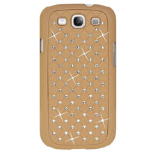 Load image into Gallery viewer, AMZER Diamond Lattice Snap On Shell Case - Khaki for Samsung GALAXY S III GT-I9300