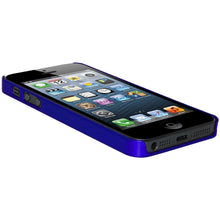 Load image into Gallery viewer, AMZER 1 MM Super Slim Simple Case with Screen Protector - Blue for iPhone 5