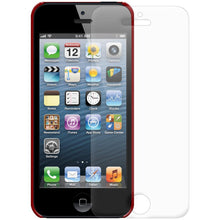 Load image into Gallery viewer, AMZER 1 MM Super Slim Simple Case with Screen Protector - Red for iPhone 5