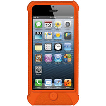 Load image into Gallery viewer, AMZER Shockproof Rugged Silicone Skin Jelly Case for iPhone 5 - Orange