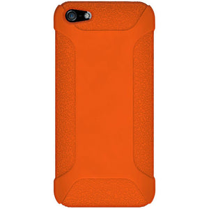 AMZER Shockproof Rugged Silicone Skin Jelly Case for iPhone 5 - Orange