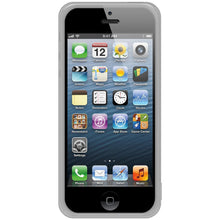 Load image into Gallery viewer, AMZER Soft Gel TPU Gloss Skin Case - Cloudy Clear for iPhone 5