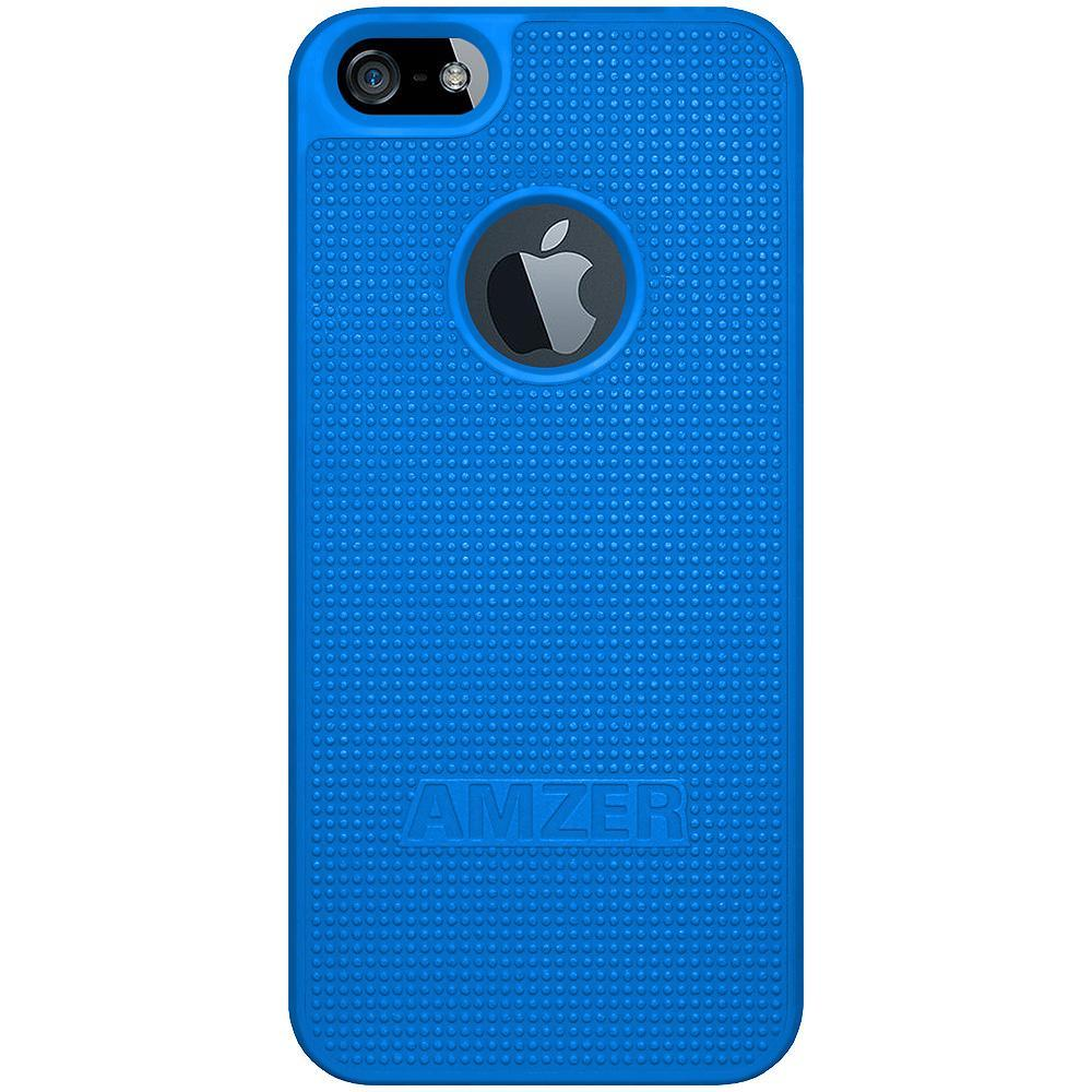 AMZER Snap On Case - Blue for iPhone 5
