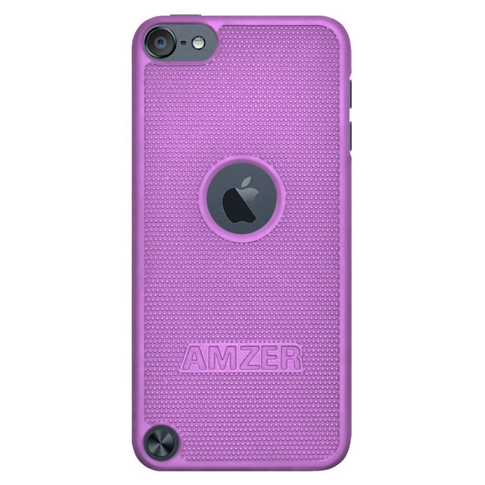 AMZER Snap On Case - Purple for iPod Touch 5th Gen