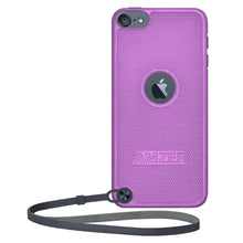 Load image into Gallery viewer, AMZER Snap On Case - Purple for iPod Touch 5th Gen