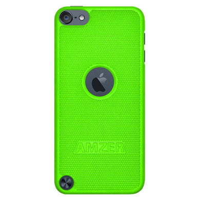 AMZER Snap On Case - Neon Green for iPod Touch 5th Gen