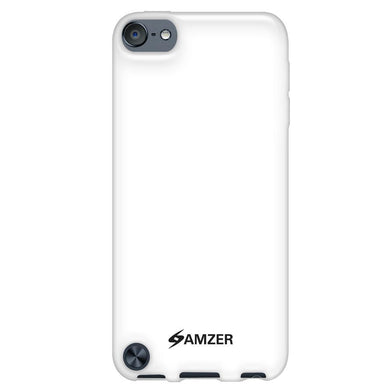 AMZER Soft Gel TPU Gloss Skin Case for iPod Touch 5th Gen - Solid White