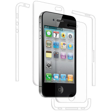 AMZER ShatterProof Screen Protector for iPhone 4 - Full Body Coverage
