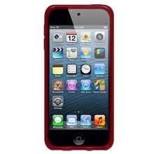 Load image into Gallery viewer, AMZER Soft Gel TPU Gloss Skin Case - Translucent Red for iPod Touch 5th Gen