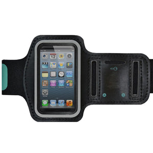 AMZER Water/Sweat Resistant Sports Armband with Key Holder for iPhone 5