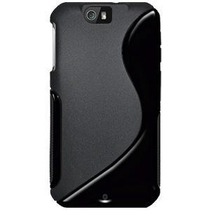 AMZER® TPU Hybrid Case - Solid Black for Motorola Double V XT626
