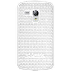AMZER Snap On Case - White for Samsung GALAXY S III mini GT-I8190