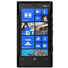 Load image into Gallery viewer, Amzer TPU Hybrid Case - Black for Nokia Lumia 920