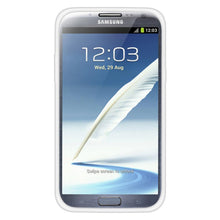 Load image into Gallery viewer, AMZER TPU Skin Case with Kickstand - White for Samsung Galaxy Note II GT-N7100